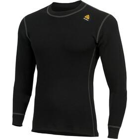 Aclima WarmWool Crew Neck Shirt Men Jet Black